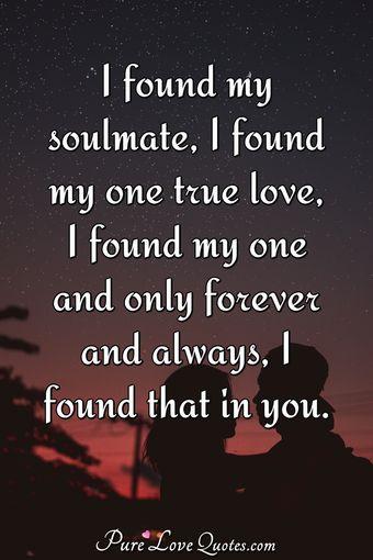 where i found my true love
