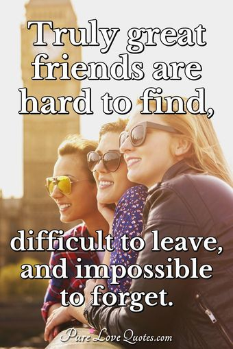 50 Friendship Quotes For True Friends Purelovequotes