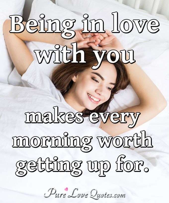 Being In Love Quotes Purelovequotes
