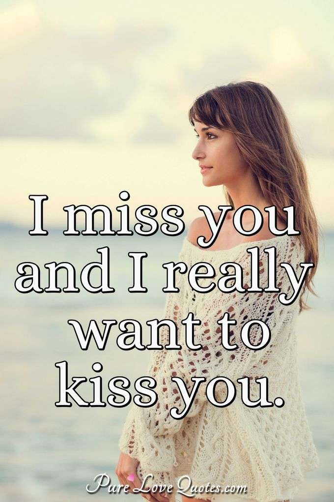 Kiss You Quotes Purelovequotes