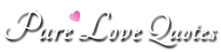Pure Love Quotes Logo