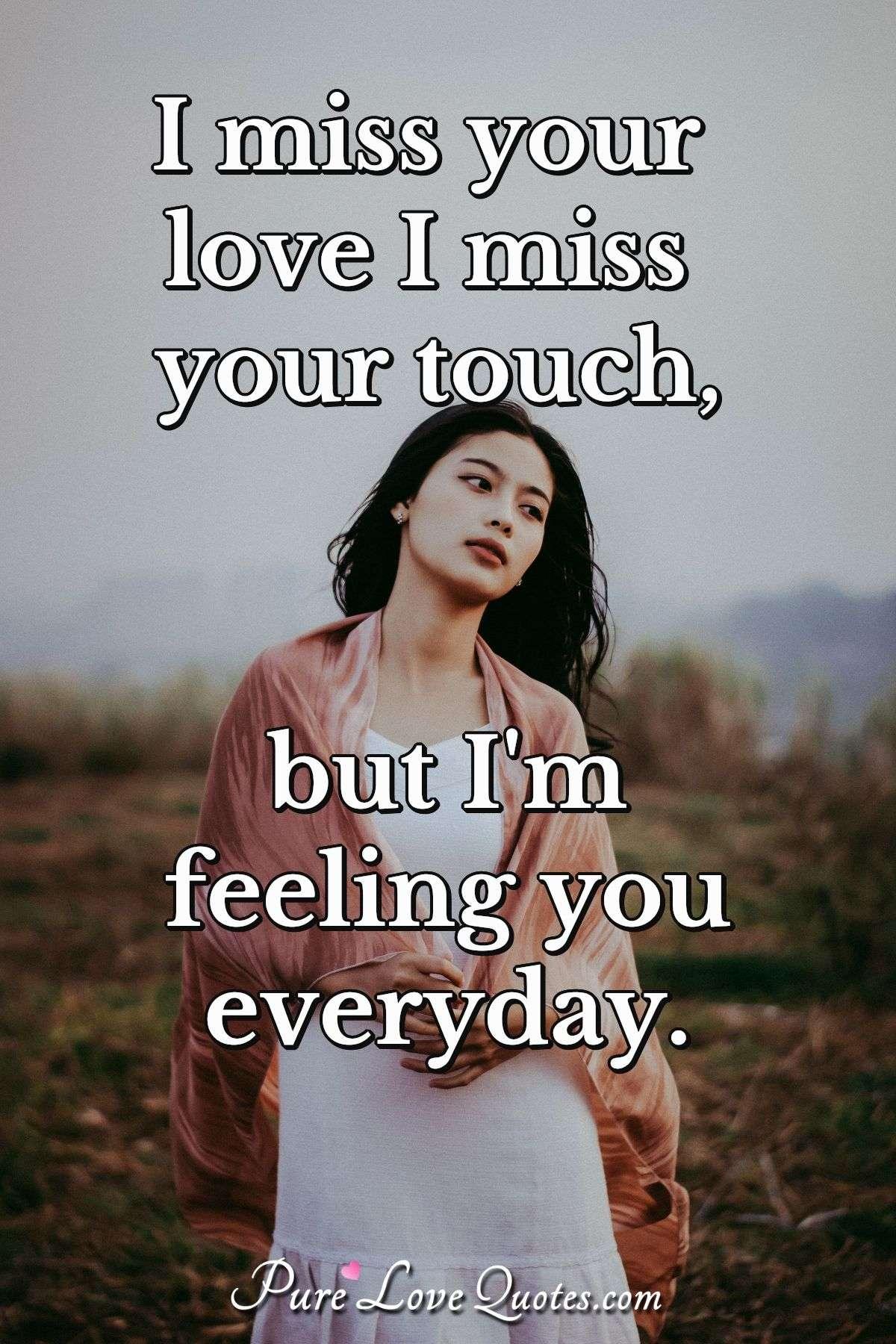 Missing romantic quotes