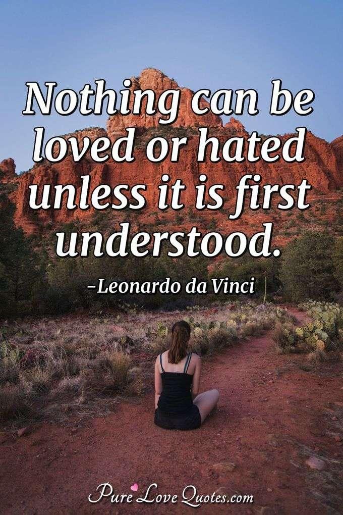 Leonardo da Vinci Love Quotes | PureLoveQuotes