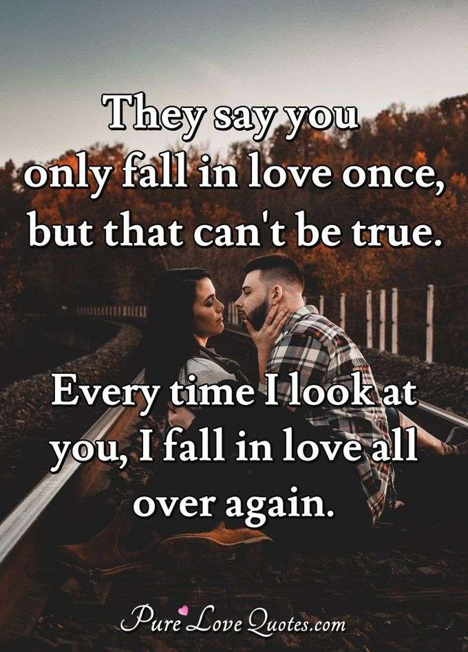 Falling In Love Quotes Purelovequotes